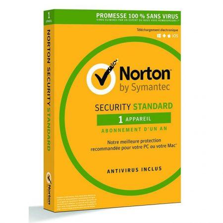 NORTON Security Standard 2018 (1 Άδεια