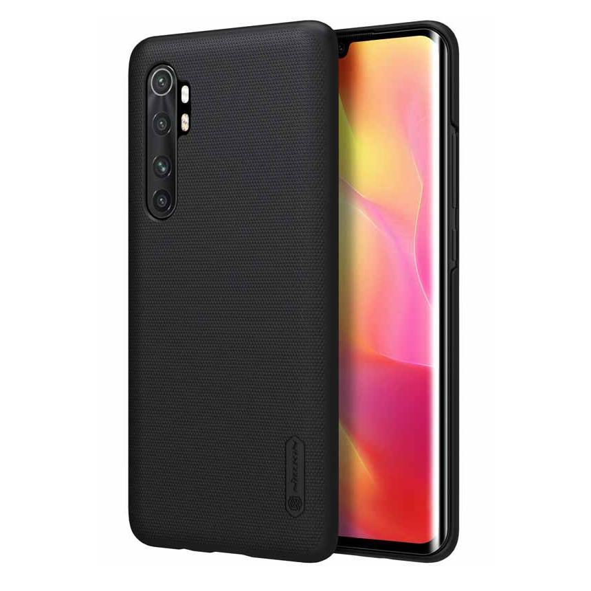 NILLKIN θήκη Super Frost Shield για Xiaomi Note 10 Lite, μαύρη