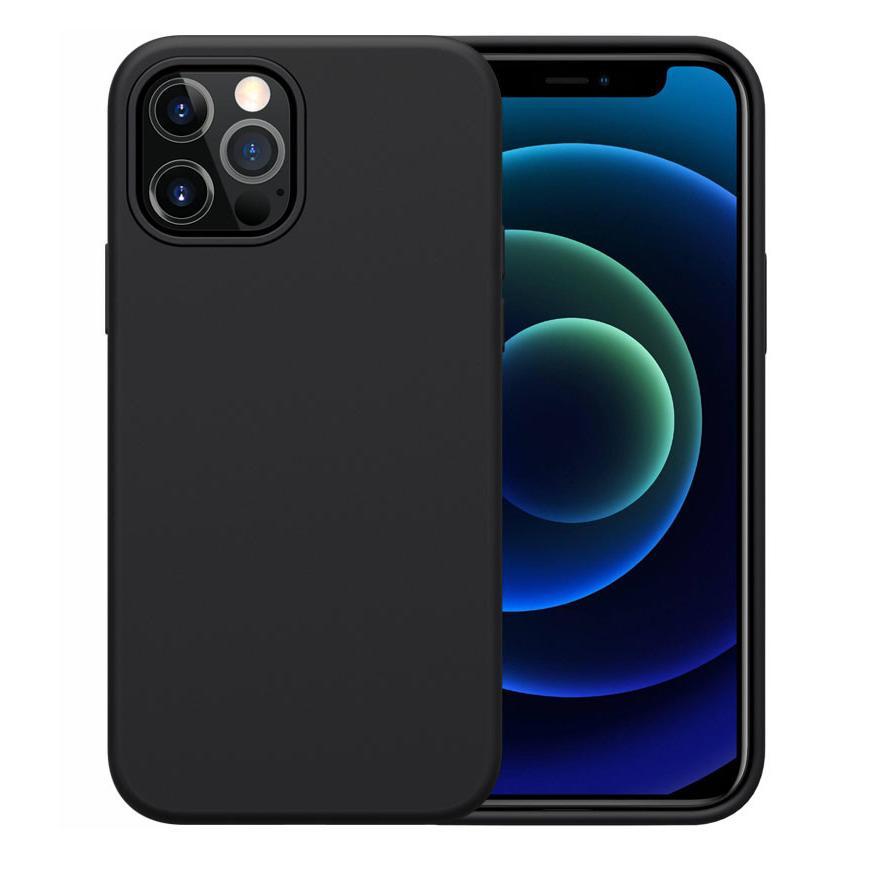 NILLKIN θήκη Flex Pure για Apple iPhone 12/12 Pro, μαύρη