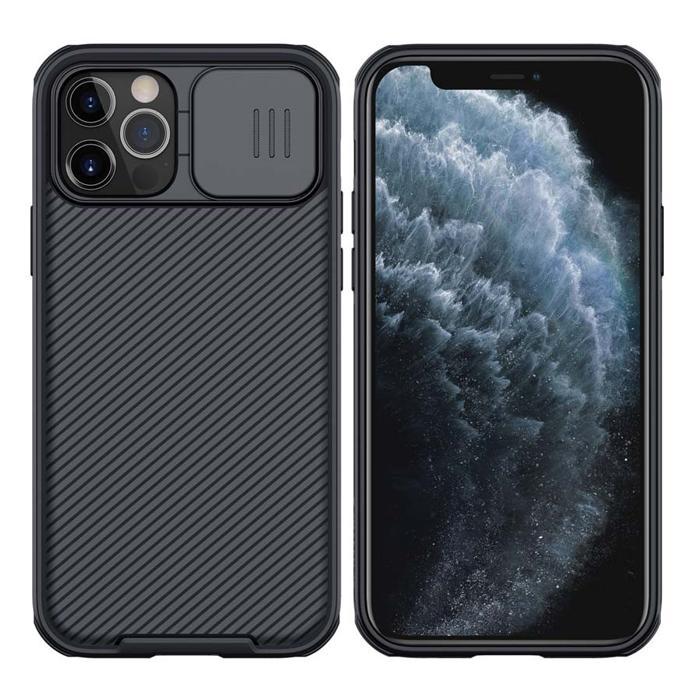 NILLKIN θήκη CamShield Pro για Apple iPhone 12/12 Pro, μαύρη