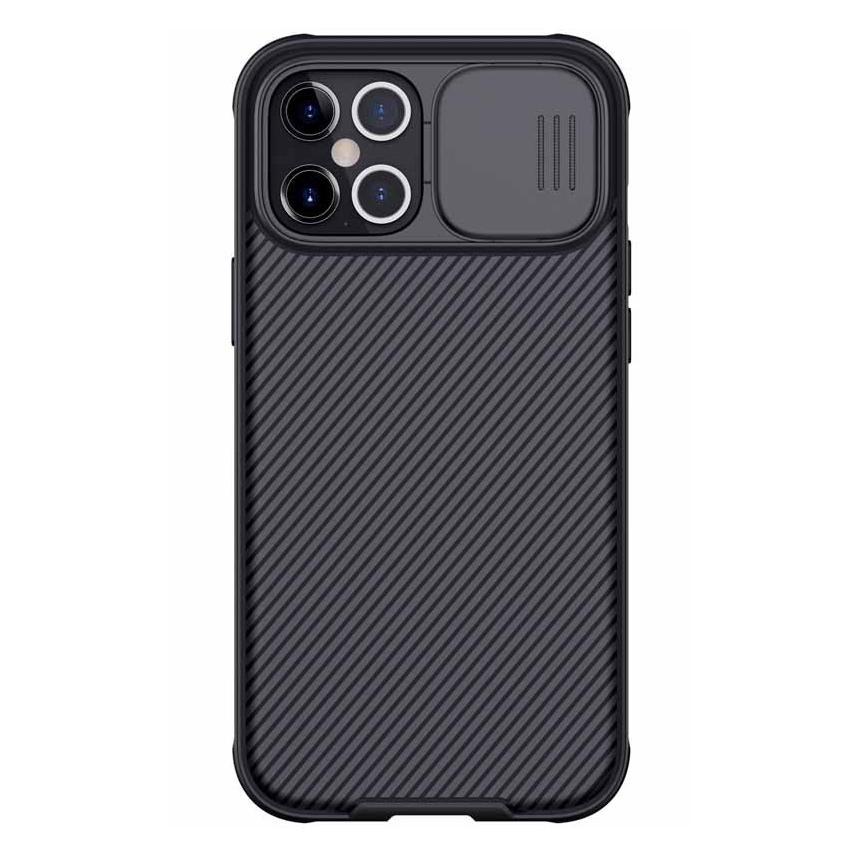 NILLKIN θήκη CamShield Pro για Apple iPhone 12 Pro Max, μαύρη
