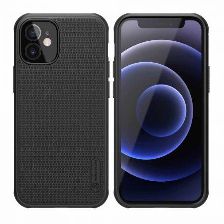 NILLKIN θήκη Super Frost Shield για  Apple iPhone 12 mini, μαύρη