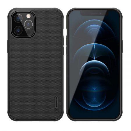 NILLKIN θήκη Super Frost Shield για Apple iPhone 12/12 Pro, μαύρη