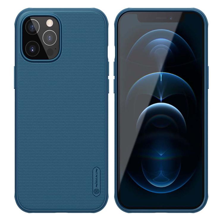 NILLKIN θήκη Super Frost Shield για  Apple iPhone 12/12 Pro, μπλε