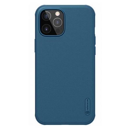 NILLKIN θήκη Super Frost Shield για Apple iPhone 12 Pro Max, μπλε