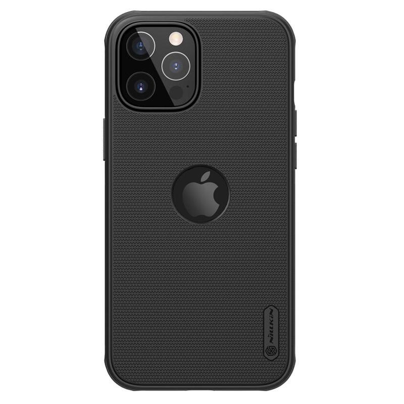 NILLKIN θήκη Super Frosted Shield για Apple iPhone 12/12 Pro, μαύρη