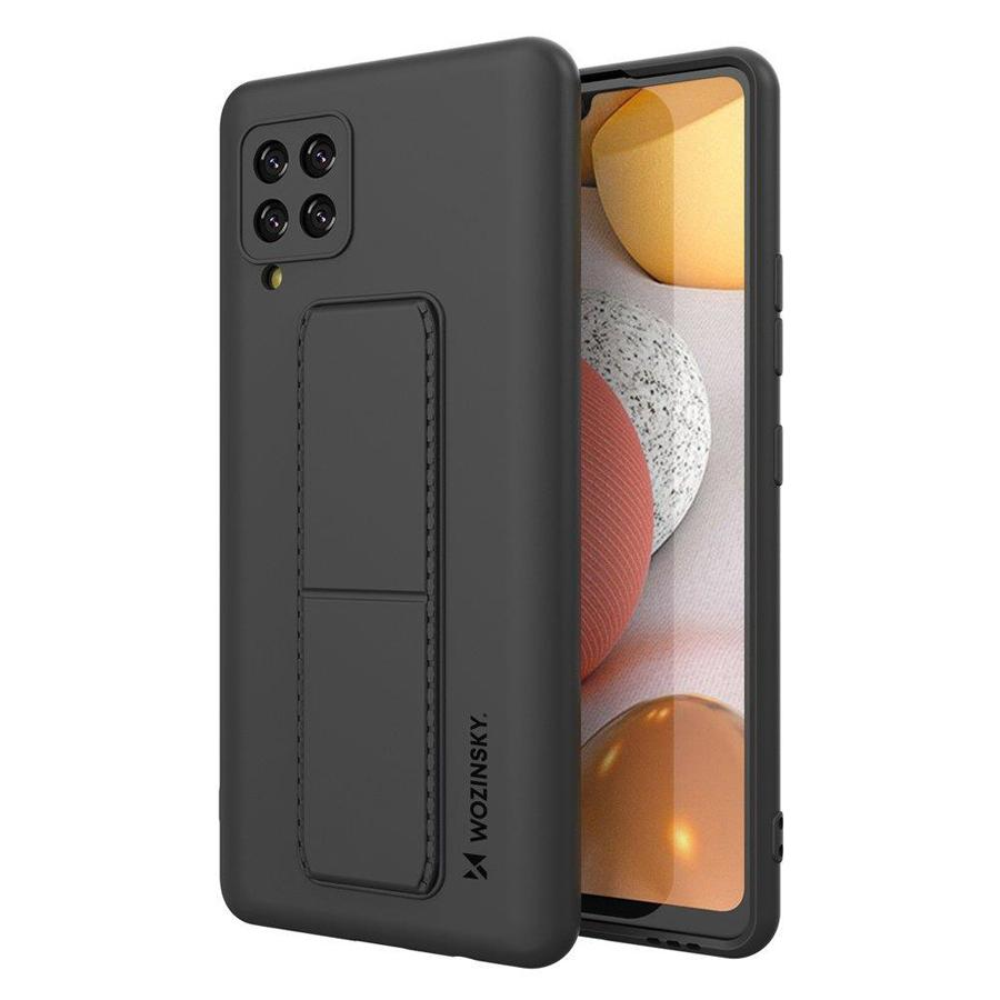 WOZINSKY θήκη Kickstand 69536 για Samsung A42 5G, μαύρη